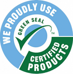 We Use Green Seal Certified Products
